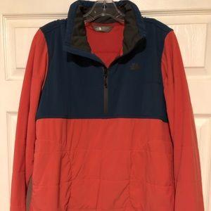 North Face Mountain Sweatshirt 1/4 zip XL